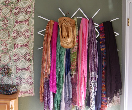 Window Lattice To Scarf Rack A Tutorial It S New And