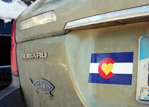 Dirty Subaru