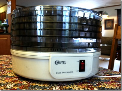 March 2013 - Food dehydrator (1)
