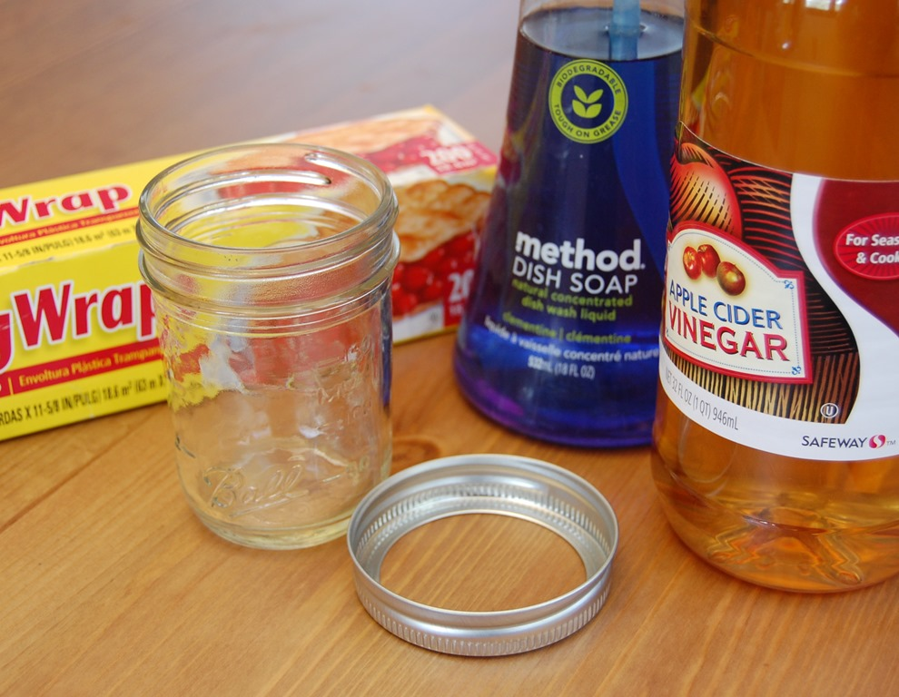 Pinterest made me do it: Homemade fruit fly trap - It's New and