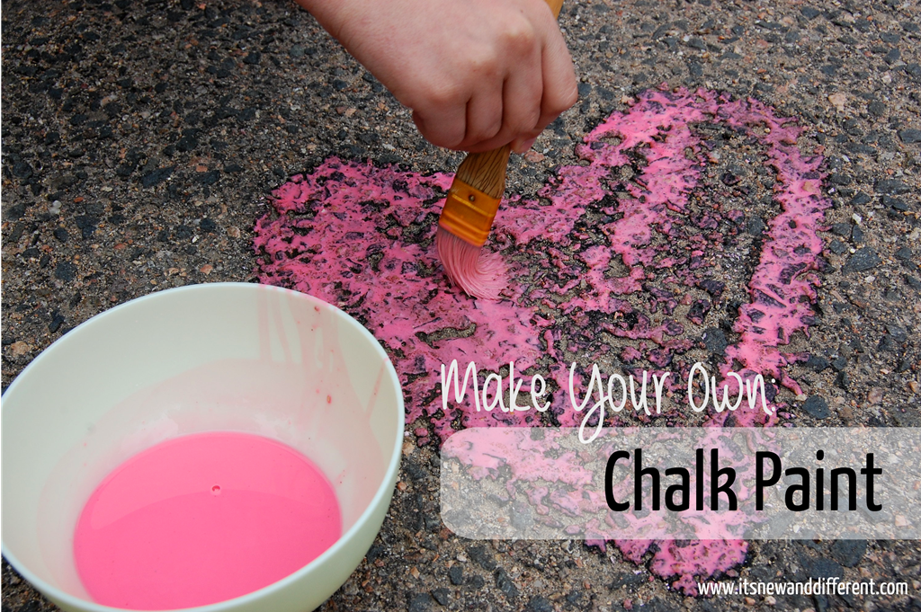 Make Your Own Chalk Paint It 39 S New And Different It 39 S