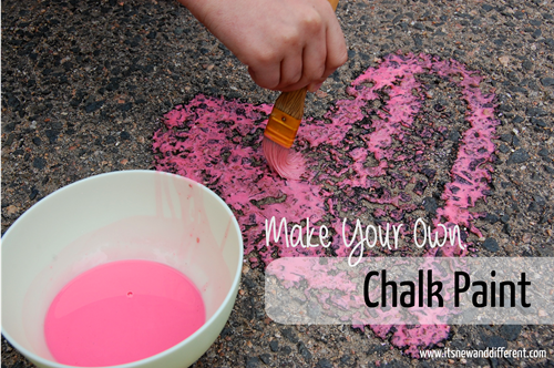 Make Your Own - Chalk Paint - Title graphic